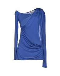Guess By Marciano T Shirts Bright Blue