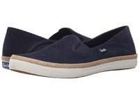 Keds Crashback Perf Suede W Jute Navy Women's Slip On Shoes