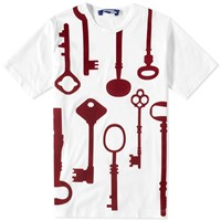 Junya Watanabe Man The Key Tee White