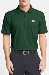 Men's Big And Tall Cutter And Buck 'Green Bay Packers Genre' Drytec Moisture Wicking Polo