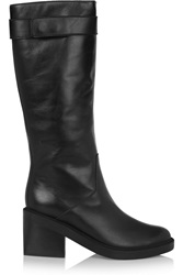 Helmut Lang Leather Boots Black