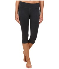 Prana Freya Knicker Coal Women's Casual Pants Gray