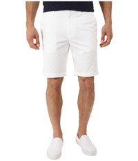 Perry Ellis Slim Fit Twill Shorts Bright White Men's Shorts