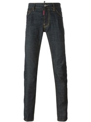 Dsquared2 Slim Fit Jeans Blue