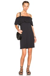 Raquel Allegra Convertible Ruffle Dress In Black