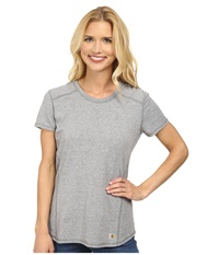 Carhartt Force T Shirt Asphalt Heather Women's T Shirt Gray