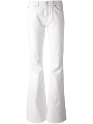 Acne Studios 'Mello' Flared Jeans White