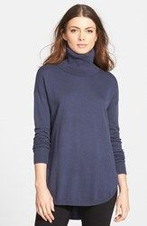 Chelsea 28 Women's Chelsea28 Turtleneck Sweater Navy Indigo