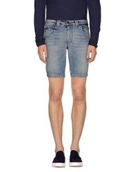 Gazzarrini Denim Denim Bermudas Men Blue