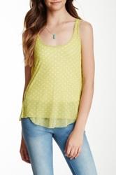 Sweet Pea Ruched Racerback Tank Green