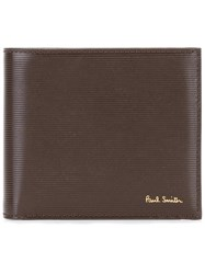 Paul Smith Bicolour Flat Wallet Brown