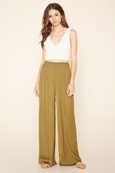 Forever 21 Contemporary Sateen Pants