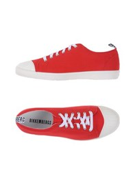 Bikkembergs Footwear Low Tops And Trainers Men Red