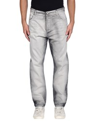 Les Hommes Denim Denim Trousers Men Grey