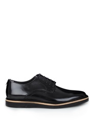Fendi Lace Up Leather Derby Shoes