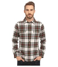Deus Ex Machina Maxwell Overshirt Grey Check Men's Long Sleeve Button Up Black