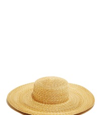 Clyde Wide Brim Straw Hat Beige