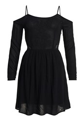 Superdry Sheer Lacy Peekaboo Dress Black