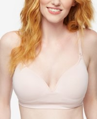 A Pea In The Pod Nursing Bra Pink Blush