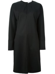 Givenchy Long Sleeve Shift Dress Black