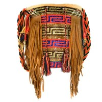 Luxchilas Boho Long Wayuu Luxury Mochila Light Brown