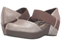 Otbt Migrant Grey Silver Women's Wedge Shoes Gray