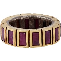 Nak Armstrong Women's Baguette Ring No Color