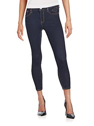 Vigoss Mid Rise Cropped Jeans Rinse