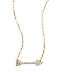 Kc Designs Diamond And 14K Yellow Gold Charmed Necklace No Color