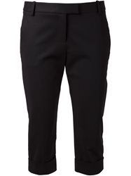 Kaufmanfranco Cropped Tailored Trousers Black