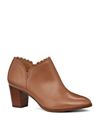 Jack Rogers Marianne Faux Leather Bootie Brown