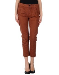 Jucca 3 4 Length Shorts Brown
