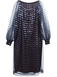 Christian Dior Vintage Sequinned Layered Dress