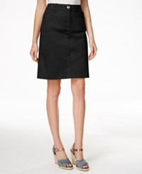 Charter Club A Line Skort Only At Macy's Deep Black