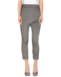 Barena Trousers 3 4 Length Trousers Women Grey