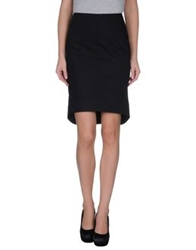 Trou Aux Biches Knee Length Skirts Black