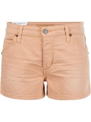 Joe's Jeans Denim Shorts Yellow And Orange