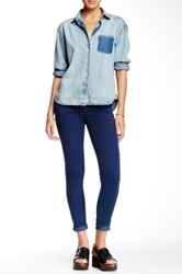 True Religion Casey Low Rise Super Skinny Jean Blue