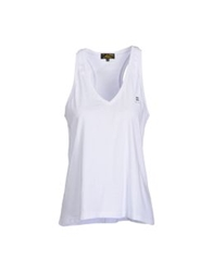 Le Mont St Michel Sleeveless T Shirts White