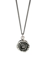 Pyrrha 'My Friend' Talisman Pendant Necklace Silver