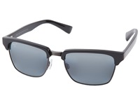 Maui Jim Kawika Black Gloss W Antique Pewter Neutral Grey Sport Sunglasses