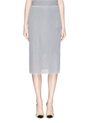 J.Crew Collection Sparkle Sweater Skirt Grey