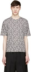 Stephan Schneider Grey Crescent Flag T Shirt