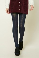 Forever 21 Open Knit Tights