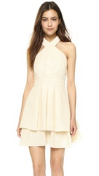 J.O.A. Halter Neck Dress Light Khaki