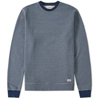 Oliver Spencer Mali Sweat Blue