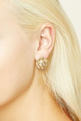 Forever 21 Etched Lion Studs