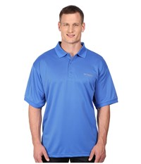 Columbia Perfect Cast Polo Extended Vivid Blue Men's Clothing