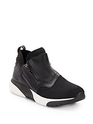 Ash Speed Side Zip Sneakers Black