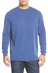 Men's Bugatchi Long Sleeve Crewneck Sweatshirt Midnight